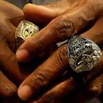 Raven players get Super Bowl rings