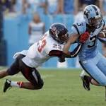 MWC football: San Diego State falls short against No. 21 North Carolina