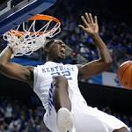 Around college basketball: Kentucky comes alive in second half