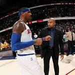 Of course Carmelo Anthony likes the energy around the Knicks now, but that will ...