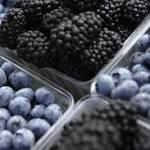 Blueberries may lower blood pressure
