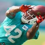 Miami Dolphins Practice Notes: Richard Marshall cut, Charles Clay starting ...