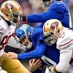 Eli Manning meltdown: Giants' QB throws five interceptions in loss to 49ers