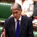 Syria crisis: Hammond plays down chances of new MPs' vote