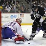 NHL Roundup: Penguins crush Canadiens 5-1