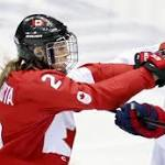 US loss has silver lining for women's hockey