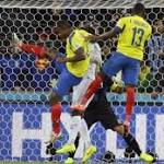 Ecuador sinks Honduras 2-1 at World Cup