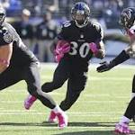 Tight end Daniels active for Ravens vs. Steelers