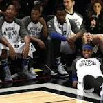 The ugly numbers from Carmelo's controversial All-Star start