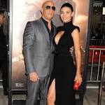 Vin Diesel's leggy girlfriend Paloma Jimenez steals the show at Riddick premiere