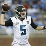 Bortles impressive but Jaguars lose to Lions 13-12