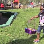 Delta's and Omega's 25th annual Easter Egg hunt brings festive atmosphere to ...