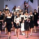 We don't care, we love them: Sexy mummies, nine more themes from Milan