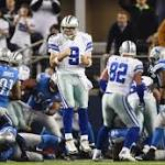 Romo, Cowboys rally past Lions 24-20 in wild card