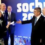 Putin Greets IOC Members In Sochi