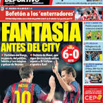 The Continental Breakfast: 'Fantasy' for Barca ahead of City clash as Messi ...