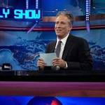 Jon Stewart's Goodbye: Watch John Oliver Seize 'The Daily Show' (Video)