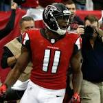 NFL notes: Atlanta WR Jones might be done for season