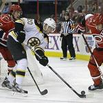Hurricanes end 7-game skid with 4-2 victory over the Bruins