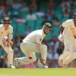 Lunch report: India avoid follow-on