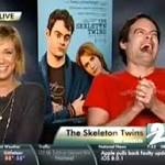 Getting serious: Comic voice Bill Hader enjoys the drama in 'The Skeleton Twins'