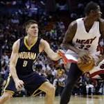 Miami Heat fall to depleted Indiana Pacers, 81-75