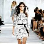 Kendall Jenner models with Naomi Campbell at Diane von Furstenberg NYFW ...