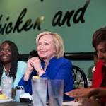 In South Carolina, Hillary Clinton courts Democratic women and African-Americans