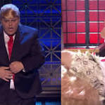 Watch Josh Gad and Johnny Galecki Have an Intense Makeout Session on Lip Sync Battle