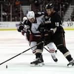 Anaheim Ducks Line Rushes vs. Columbus Blue Jackets: 10/24/2014