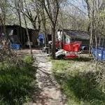Homeless camp demolished, scattering 80 individuals