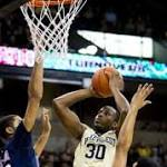 Wake Forest rallies to beat Richmond 76-66 in OT