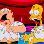 'The Simpsons'/'Family Guy' crossover is one of the most fascinatingly weird ...