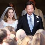 Geri Halliwell sings Spice Girls' hit for hubby Christian Horner at nuptials