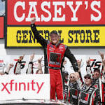 Chris Buescher Wins Iowa Xfinity Race; Results
