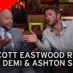 Scott Eastwood claims Ashton Kutcher slept with his then-girlfriend while he was ...