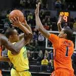 Oregon men's basketball begins Pac-12 play with double-digit win over Oregon ...