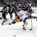 Islanders can't finish chances, lose to Tampa Bay
