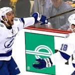 Lightning defeat Penguins in Game 1, lose Bishop
