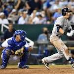 Yankees' Jacoby Ellsbury collects 1000th career hit in win over Royals