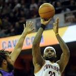 LeBron returns to help Cavs win ninth straight