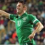 Soccer-Ireland captain Keane ruled out of Austria qualifier