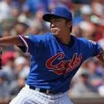Wada throws 6 1-3 hitless innings as Cubs beat O's