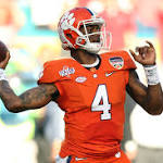 It's all (or mostly) about Deshaun Watson as Clemson faces Alabama for CFP ...