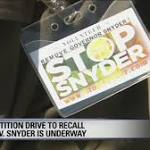 Detroit Reverend begins campaign to recall Gov. Snyder on Easter Sunday