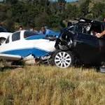 Woman killed after plane crashes into car on I-15 identified