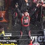 Defending truck champion Crafton wins at Martinsville