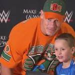 Wrestling Star Creates Memorable Moments For Make-A-Wish Kids