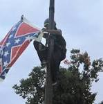 Fund for activist who took down Confederate flag raises $75000 in eight hours