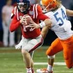 Oh, Hotty: Broncos beat up late by Ole Miss in Bryan Harsin's debut